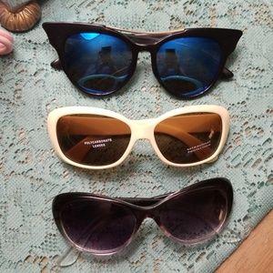 Lot of 3 sunglasses